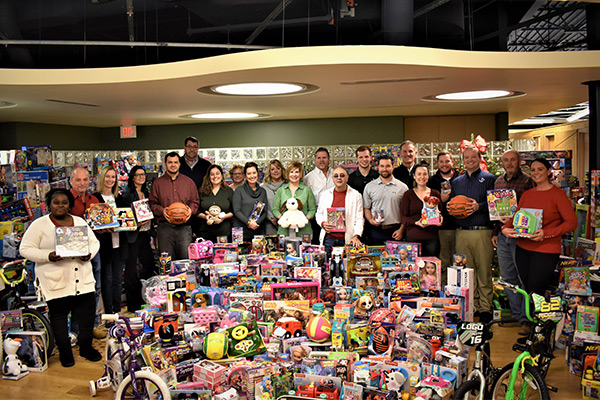 Annual U.S. Marines Corp Toys for Tots Drive
